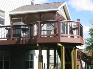 Minneapolis screened porch and deck by Archadeck
